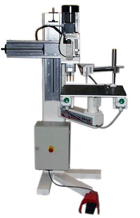 dowel boring machine